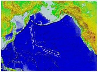 Hawaiian Ridge - Emperor Seamounts