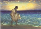 'Hawaiian_Fisherman',_woodblock_print_by_Charles_W._Bartlett,_1919