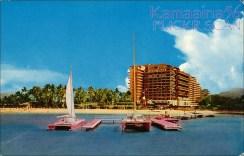 Hawaiian_Village_Hotel-Pink_Catamarans-(kamaaina56)