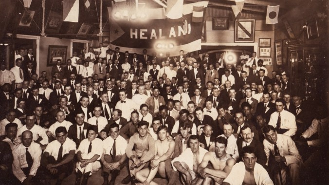 Healani Boat Club-formed in 1890 and was the only active rowing club during World War II