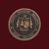 Henry Perrine Baldwin High School-plaque