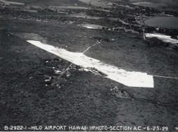 Hilo Airport, Hawaii, June 25, 1929