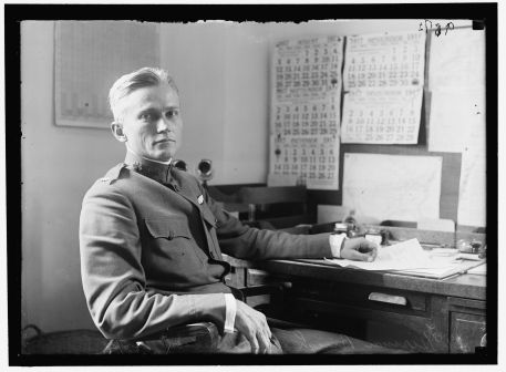 Hiram (III) at his desk