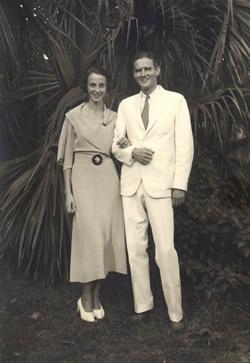 Hiram (IV) and Rose Newlyweds-1934