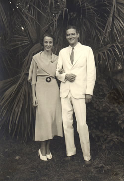 Hiram (IV) and Rose Newlyweds-1934