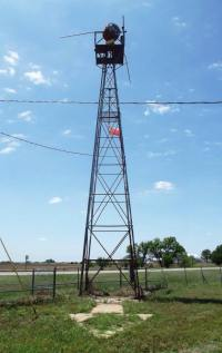 Historic Ariway Beacons-tower and arrow are in Kansas, along the Amarillo - Kansas City route