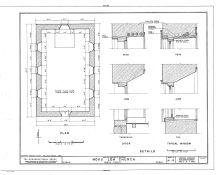 Hokuloa Church HABS-LOC Plan-Details