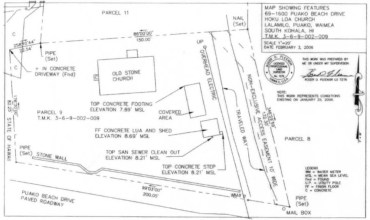 Hokuloa Church - Site Plan -NPS