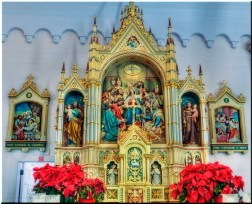 Holy Ghost Catholic Church-high alter