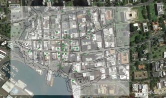 Honolulu Grog Shops Map-Greer-GoogleEarth