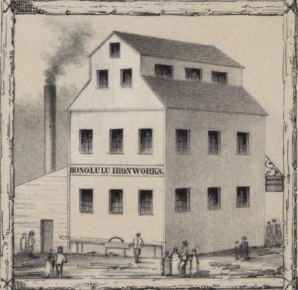 Honolulu Iron Works-1854