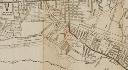 Honolulu and Vicinity-Map-1934-(portion-noting-Waikiki_Park)
