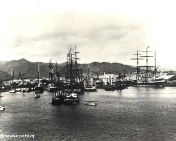 Honolulu_Harbor_in_1881