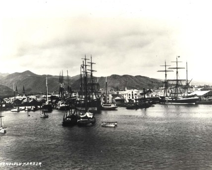 Honolulu_Harbor_in_1881