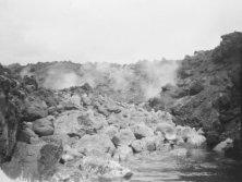 Hoopuloa -- June 21, 1926 (edge of lava flow)-HMCS