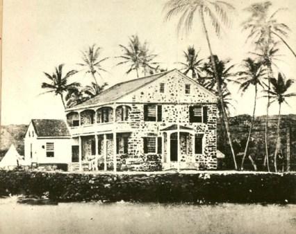 Hulihee_Palace,_before 1884
