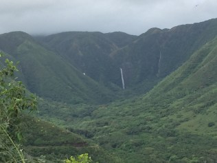 Halawa waterfalls