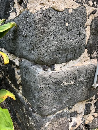 Umi stones in Mokuaikaua Church