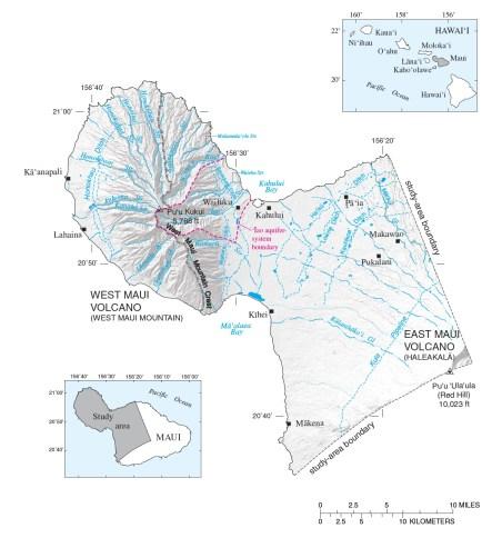 Iao Aquifer-Ditches-USGS