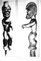 Image removed from Hale-o-Keawe and later presented to the Bishop Museum