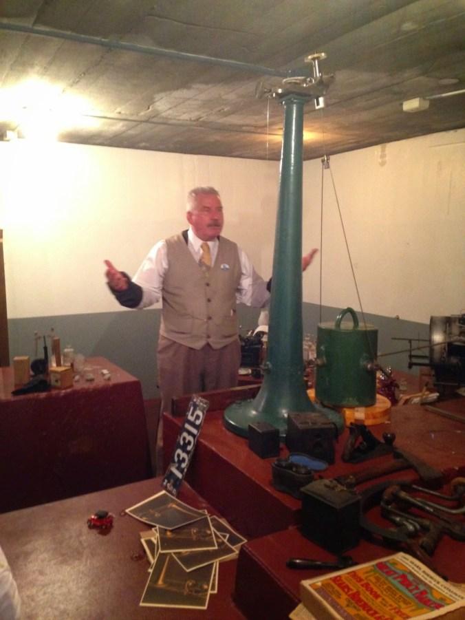 Inside the Whitney Vault, Thomas Jaggar, aka Dick Hershberger-Ron Johnson-KauNews