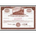 Inter-Island Resorts-stock_certificate