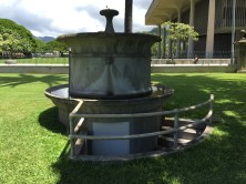 Iolani Palace Artesian Well-Pump