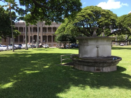 Iolani Palace Artesian_Well-Pump