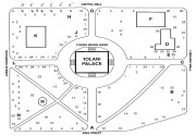 Iolani Palace Grounds - Map