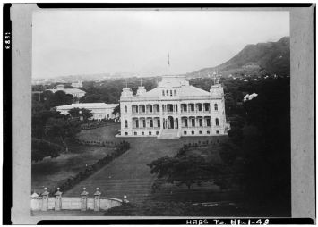 Iolani_Palace-and-Grounds-1883