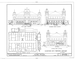 Iolani_Palace-temporary offices-interior and exterior-LOC