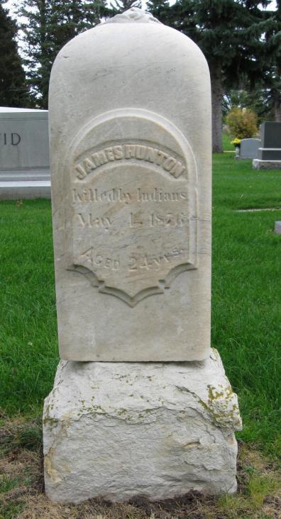 James_Hunton-gravestone