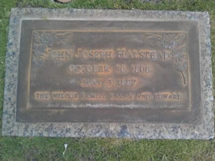 John Joseph Halstead-gravestone