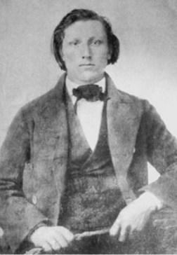 Joseph F Smith, about 1857-LDS