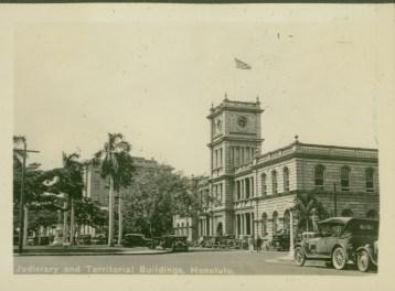 Judiciary and Territorial Buildings - 1935
