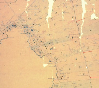 Kailua_Town_and_Vicinity_Map-Kanakanui-Reg1676 (1892)-(note_Great_Wall_of_Kuakini)