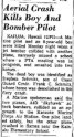 Kainalu_Crash-Evening Times, MD, November 21, 1961