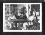 Kalakaua, King of Hawaii, 1836-1891 with Robert Louis Stevenson (1850-1894) and Lloyd Osbourne (1868-1947)-(HSA)-PP-96-14-011-1889