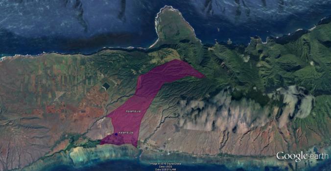 Kalamaula-Google Earth