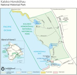 Kaloko-Honokohau_National_Park-(NPS)-Map