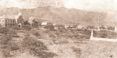Kamehameha School for Boys campus-(KSBE)-before 1900