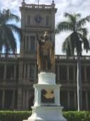 Kamehameha Statue-Honolulu-front