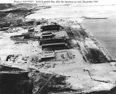 Kaneohe Naval Air Station after Attacks