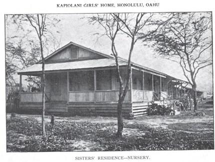 Kapiolani Girls Home-Sisters_Residence-1907