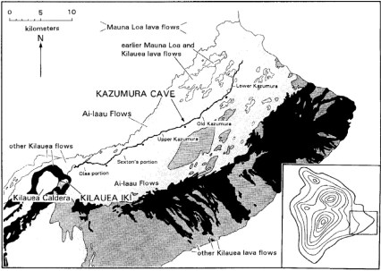 Kazumura Cave map-CulturalSurveys