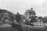 Keōua Hale was the palace of Princess Ruth Ke'elikōlani at 1302 Queen Emma Street-larger than Iolani Palace
