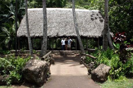 Kepaniwai Park and Heritage Gardens-Hawaiian Hale