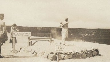 Kilauea-Halemaumau 19th Hole