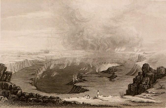 Kilauea-Wilkes-Expedition-1845