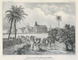 Kinau_returning_from_church-(daughter_of_Kamehameha_1-mother_of_Alexander_Liholiho)-1837